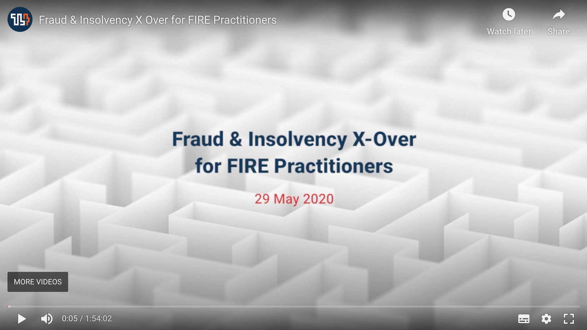 Fraud & Insolvency X-Over for FIRE Practitioners