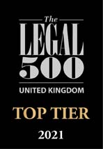 The Legal 500 Top Tier