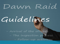 Dawn Raid guidelines
