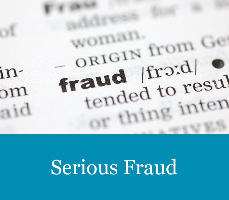 Our Serious Fraud Services