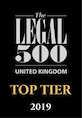 Legal 500 Top Tier 2019