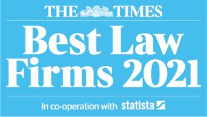 The Times - Лучшие юридические фирмы 2021